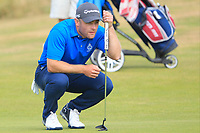 Richard McCrudden (Royal Portrush) on the 10th green during Round 2 - Strokeplay of the North of Ireland Championship at Royal Portrush Golf Club, Portrush, Co. Antrim on Tuesday 10th July 2018.<br />