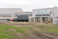Central High School Bridgeport CT Expansion & Renovate as New. State of CT Project # 015-0174. One of 80 Photographs of Progress Submission 15, 05 May 2016 South Elevation