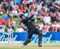New Zealand's Lockie Ferguson.  Black Caps v England, second international cricket ODI, Bay Oval, Tauranga, New Zealand. Wednesday, 28 February, 2018. Copyright photo: John Cowpland / www.photosport.nz