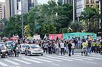 Manifestação contra a copa, Avenida Paulista, São Paulo - SP, 01/2014.