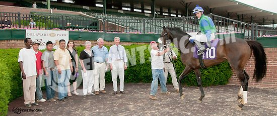 It's Time to Reign winning at Delaware Park on 6/12/13