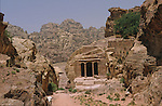 Garden Tomb. Middle East. Jordan. Petra
