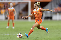 Houston, TX - Wednesday June 28, 2017: Camille Levin passes the ball during a regular season National Women's Soccer League (NWSL) match between the Houston Dash and the Boston Breakers at BBVA Compass Stadium.