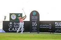 Jonathan Vegas (USA) on the 16th tee during the 1st round of  the Saudi International powered by Softbank Investment Advisers, Royal Greens G&CC, King Abdullah Economic City,  Saudi Arabia. 30/01/2020<br /> Picture: Golffile | Fran Caffrey<br /> <br /> <br /> All photo usage must carry mandatory copyright credit (© Golffile | Fran Caffrey)