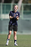28 March 2009: Washington's Emily Janss. The Washington Freedom practiced on Field 2 at the Home Depot Center in Carson, California the day before playing in the Women's Professional Soccer inaugural game.