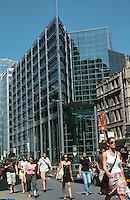 London:  Sptafield adjacent to Broadgate, fronting on Bishopsgate.  1990's by EPR  Architects.  Photo 2005.