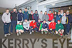 Taking part in the Over the Water Rowing Club Scoccer Blitz fundraiser held at The South Kerry Sports Centre on St Stephens Day were front l-r; Luke O'Shea, Sean O'Sullivan, Chris O'Sullivan, Sean O'Shea, Patsie Tim O'Sullivan, Ronan O'Connor, Joe O'Sullivan, back l-r; Jason O'Shea, Kieran Cronin, Max Thiemann, Mark McCarthy, Brendan O'Sullivan, D.J. Moran, Kevin Cronin, James Moran, Mathew O'Sullivan, Paul O'Shea, Alan Smith, Jeremiah Moran, Michael O'Sullivan, Paudie Casey & Colin Grandfield.
