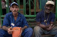 workers taking a break, Havana, Cuba