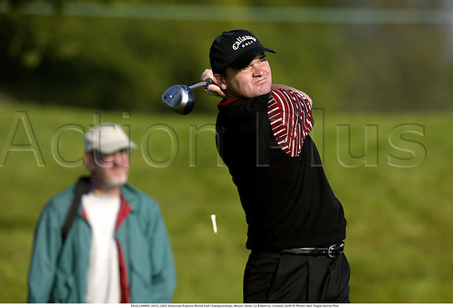 PAUL LAWRIE (SCO), 2002 American Express World Golf Championships, Mount Juliet, Co Kilkenny, Ireland, 020919. Photo: Neil Tingle/Action Plus...golf golfer player........................................... ........................