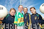 STARS: Young star of  John Mitchels GAA Club in Tralee who were presented with  training tops who were selected as Players of the Week over the past four weeks..L/r. Aislinn McCannon Brosnan,  Niamh Myers, Ciara Kilgannon and Sara Sheehan..   Copyright Kerry's Eye 2008