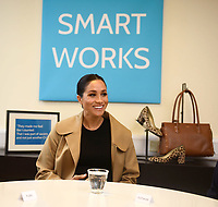 10 January 2019 - London, England - Meghan Markle Duchess of Sussex visits Smart Works Charity. Photo Credit: ALPR/AdMedia