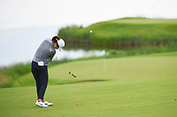 Yu Liu (CHN) hits her approach shot on 10 during the round 1 of the KPMG Women's PGA Championship, Hazeltine National, Chaska, Minnesota, USA. 6/20/2019.<br /> Picture: Golffile | Ken Murray<br /> <br /> <br /> All photo usage must carry mandatory copyright credit (© Golffile | Ken Murray)