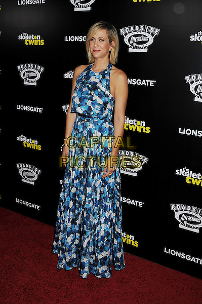HOLLYWOOD, CA- SEPTEMBER 10: Actress Kristen Wiig attends 'The Skeleton Twins' Los Angeles premiere held at the ArcLight Hollywood on September 10, 2014 in Hollywood, California.<br /> CAP/ROT/TM<br /> &copy;Tony Michaels/Roth Stock/Capital Pictures