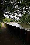 Pix: Shaun Flannery/shaunflanneryphotography.com...COPYRIGHT PICTURE>>SHAUN FLANNERY>01302-570814>>07778315553>>..17th June 2011.........The canal bypassing the weir on the River Don at Sprotbrough, Doncaster.