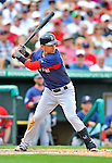 8 March 2012: Boston Red Sox infielder Jose Iglesias in action during a Spring Training game against the St. Louis Cardinals at Roger Dean Stadium in Jupiter, Florida. The Cardinals defeated the Red Sox 9-3 in Grapefruit League action. Mandatory Credit: Ed Wolfstein Photo