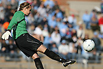 27 November 2009: North Carolina's Ashlyn Harris. The University of North Carolina Tar Heels defeated the Wake Forest University Demon Deacons 5-2 at Fetzer Field in Chapel Hill, North Carolina in an NCAA Division I Women's Soccer Tournament Quarterfinal game.