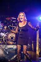 ROYAL OAK, MI - SEPTEMBER 23: Nightwish in concert at the Royal Oak Muis Theatre in Royal Oak, Michigan. September 23, 2012. &copy; Joe Gall/MediaPunch Inc. /NortePhoto<br />