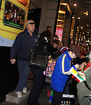 "Joe West makes his Broadway Debut as ""Ralphie"" in A Christmas Story The Musical and signs for fans on November 20, 2012, New York City, New York. (Photo by Sue Coflin/Max Photos)"