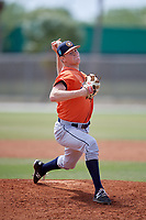 Houston Astros pitcher Cole Watts (81) during a Minor League Spring Training game against the St. Louis Cardinals on March 27, 2018 at the Roger Dean Stadium Complex in Jupiter, Florida.  (Mike Janes/Four Seam Images)