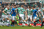 Jason Holt takes on the Celtic midfield