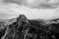 Thunderstorm at Glacier Point , Yosemite   35mm image on Ilford Delta 100 film
