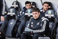 SWANSEA, WALES - FEBRUARY 07: Josep Pep Clotet before the Premier League match between Swansea City and Sunderland AFC at Liberty Stadium on February 7, 2015 in Swansea, Wales.
