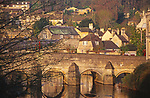 A1X1G2 Bradford on Avon bridge Wiltshire England