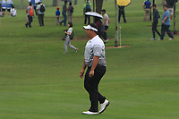 Kiradech Aphibarnrat (Asia) on the 2nd fairway during the Saturday Foursomes of the Eurasia Cup at Glenmarie Golf and Country Club on the 13th January 2018.<br /> Picture:  Thos Caffrey / www.golffile.ie