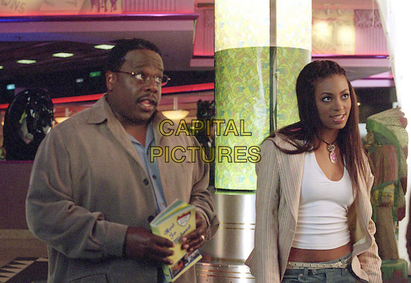 CEDRIC THE ENTERTAINER & SOLANGE KNOWLES.in Johnson Family Vacation.*Editorial Use Only*.www.capitalpictures.com.sales@capitalpictures.com.Supplied by Capital Pictures.