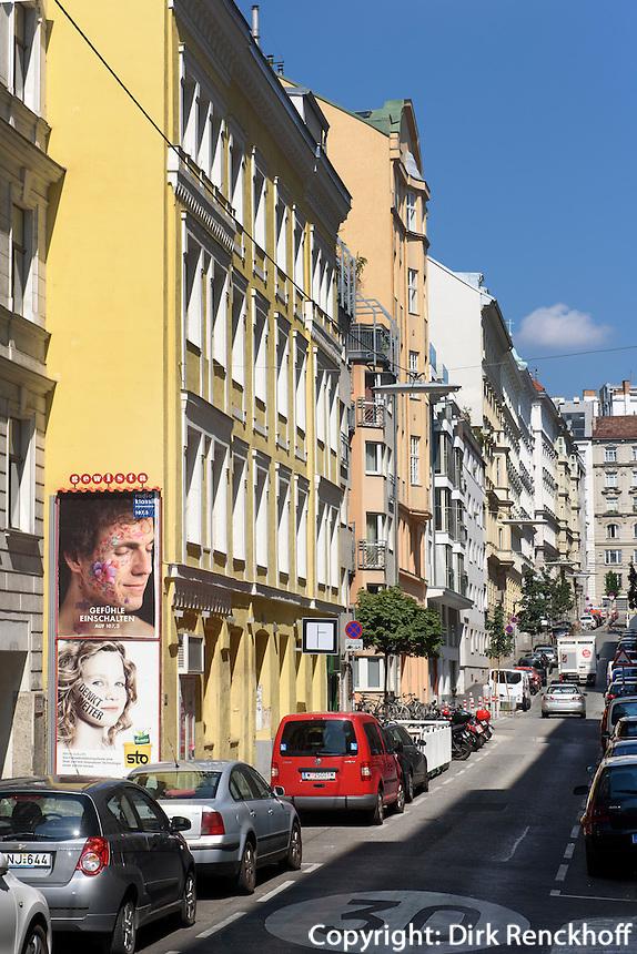 in der Laimgrubengasse, Wien, &Ouml;sterreich, UNESCO-Weltkulturerbe<br /> Laimbgrubengasse, Vienna, Austria, world heritage
