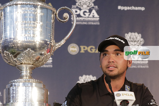 Jason DAY (AUS) wins the tournament by 3 shots with a score of -20 at the end of Sunday's Final Round of the 97th US PGA Championship 2015 held at Whistling Straits, Mosel, Kohler, Wisconsin, United States of America. 16/08/2015.<br /> Picture Eoin Clarke, www.golffile.ie