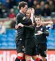 20/11/2010   Copyright  Pic : James Stewart.sct_jsp021_kilmarnock_v_rangers  .:: KENNY MILLER IS CONGRATULATED BY KYLE LAFFERTY AFTER HE SCORES THE THIRD ::.James Stewart Photography 19 Carronlea Drive, Falkirk. FK2 8DN      Vat Reg No. 607 6932 25.Telephone      : +44 (0)1324 570291 .Mobile              : +44 (0)7721 416997.E-mail  :  jim@jspa.co.uk.If you require further information then contact Jim Stewart on any of the numbers above.........