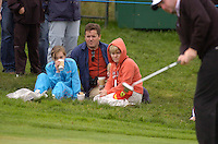 July 7th, 2006. Smurfit European Open, The K Club, Straffan, County Kildare..England's Kenneth Ferrie watched by fans at the above..Photo: BARRY CRONIN/Newsfile..(Photo credit should read BARRY CRONIN/NEWSFILE).