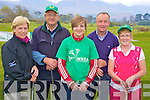 Brid Lynch, Tim Lynch, Aisling Murphy, Sean O'Mahony and Mary O'Connor pictured at the Irish Motor Neuron Golf Classic in Beaufort Golf Club on Friday.........