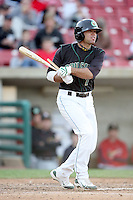 May 15, 2010: Mike Gilmartin of the Kane County Cougars at Elfstrom Stadium in Geneva, IL. The Cougars are the Midwest League Class A affiliate of the Oakland Athletics. Photo by: Chris Proctor/Four Seam Images