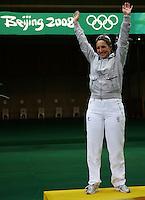Chiara Cainero medaglia d'oro Skeet.Women's Skeet .Shooting Range CTF .Pechino - Beijing 14/8/2008 Olimpiadi 2008 Olympic Games.Foto Andrea Staccioli Insidefoto