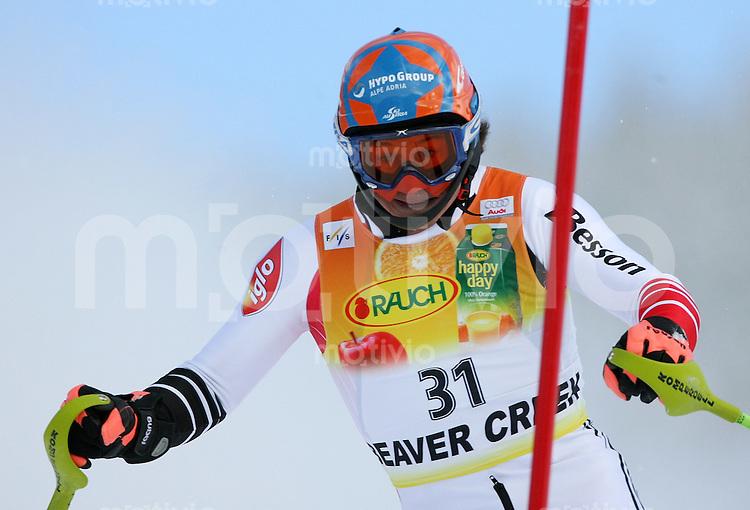 Ski Alpin; Saison 2006/2007   Slalom  Abfahrt Rainer Schoenfelder (AUT) belegtn Platz 3.