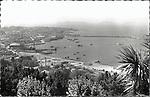 DESTRUCCION A TODA COSTA 2010 (DTC2010) Puerto de Vigo (Pontevedra) con las Islas Cies al fondo. Aproximacion 1950. © Colección personal Pedro Armestre