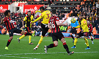 Roberto Pereyra of Watford scores the third goal during AFC Bournemouth vs Watford, Premier League Football at the Vitality Stadium on 12th January 2020