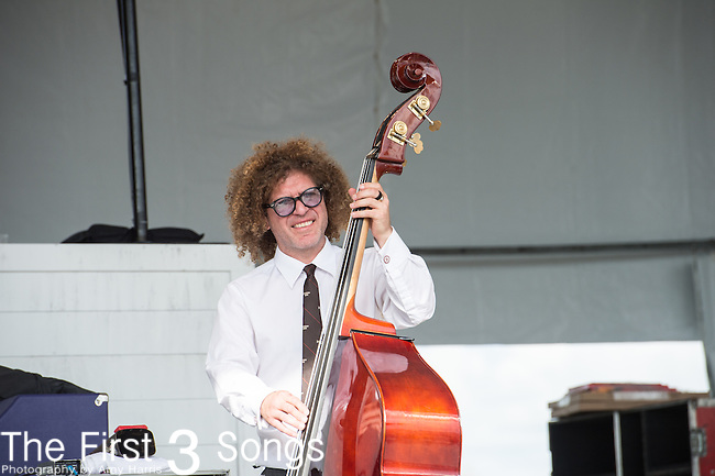 Ben Jaffe of The Preservation Hall Jazz Band at the 2015 Pilgrimage Music & Cultural Festival in Franklin, Tennessee.