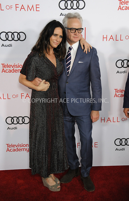 www.acepixs.com<br /> <br /> November 15 2017, LA<br /> <br /> Bradley Whitford and Amy Landecker arriving at the Television Academy's 24th Hall of Fame Ceremony at the Saban Media Center on November 15, 2017 in Los Angeles, California.<br /> <br /> By Line: Peter West/ACE Pictures<br /> <br /> <br /> ACE Pictures Inc<br /> Tel: 6467670430<br /> Email: info@acepixs.com<br /> www.acepixs.com