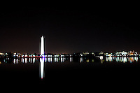 DC Monument from FDR at Night