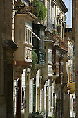 Wooden Balconies are an architectural feature in Malta