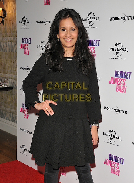 Sonali Shah at the &quot;Bridget Jones's Baby&quot; special film screening to celebrate the UK dvd release, Charlotte Street Hotel, Charlotte Street, London, England, UK, on Tuesday 31 January 2017.<br /> CAP/CAN<br /> &copy;CAN/Capital Pictures