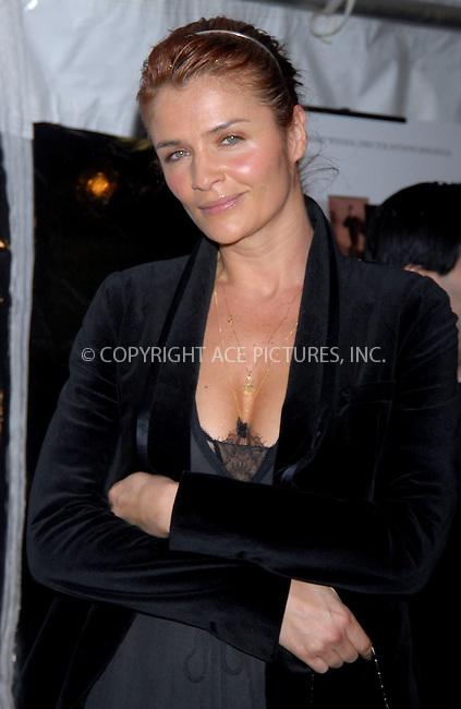 WWW.ACEPIXS.COM . . . . . ....January 18, 2007, New York City. ....Helena Christensen attends the Premiere of 'Breaking and Entering'.  ....Please byline: KRISTIN CALLAHAN - ACEPIXS.COM.. . . . . . ..Ace Pictures, Inc:  ..(212) 243-8787 or (646) 769 0430..e-mail: info@acepixs.com..web: http://www.acepixs.com