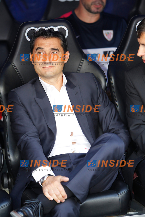 Athletic Club coach Ernesto Valverde  during La Liga Match. September 01, 2013. (ALTERPHOTOS/Caro Marin) <br /> Football Calcio 2013/2014<br /> La Liga Spagna<br /> Foto Alterphotos / Insidefoto <br /> ITALY ONLY
