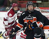 Jeremy Goodwin (Princeton - 6) - The Harvard University Crimson defeated the Princeton University Tigers 3-2 on Friday, January 31, 2014, at the Bright-Landry Hockey Center in Cambridge, Massachusetts.