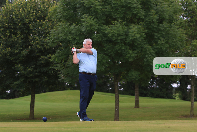 Martin Darcy (Tullamore) on the 15th tee during the Final of the Irish Mixed Foursomes Leinster Final at Millicent Golf Club, Clane, Co. Kildare. 06/08/2017<br /> Picture: Golffile | Thos Caffrey<br /> <br /> <br /> All photo usage must carry mandatory copyright credit     (&copy; Golffile | Thos Caffrey)