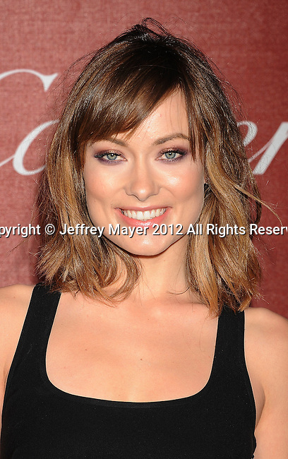 PALM SPRINGS, CA - JANUARY 07: Olivia Wilde arrives at the 2012 Palm Springs Film Festival Awards Gala at the Palm Springs Convention Center on January 7, 2012 in Palm Springs, California.