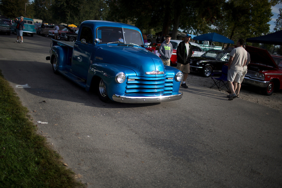 Ducktail Run Rod & Custom Show –Gas City, Ind., Saturday, Sept. 29, 2014. (Photo by James Brosher)